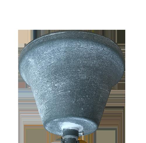 Woody Hanglamp - zwart met houtblok