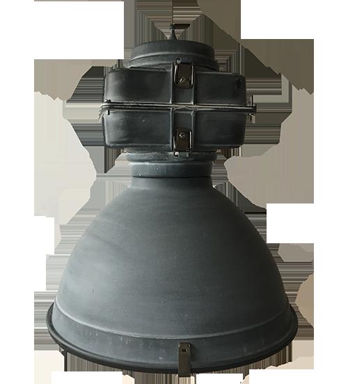 Aperto hanglamp - 1 lichts - 34 cm - zwart black steel met 200 cm touw