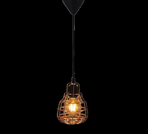 Industry hanglamp - 3 lichts - grijs beton