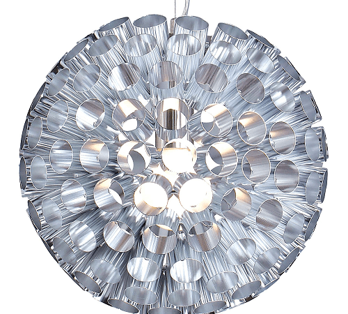 Sfera hanglamp - 35 cm - hout natuur
