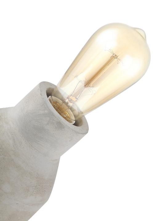 Donna tafellamp - hout - ZIJ van HIJ (serie man en vrouw)