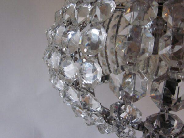 Sfera hanglamp - 45 cm - hout natuur