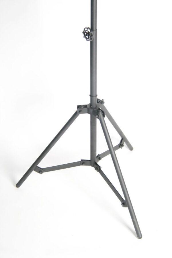 Tazza tafellamp - 1 lichts - zwart black steel met vintage hout