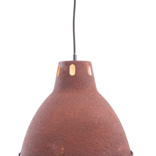 Aperto Staande lamp - 2 lichts - 11 cm - zwart black steel met vintage wood