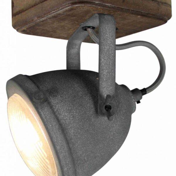 Industry vloerlamp - 2 lichts - betonlook