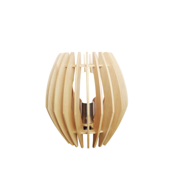 Sylvie spot - 3 lichts - zwart black steel met vintage hout en smoke rookglas