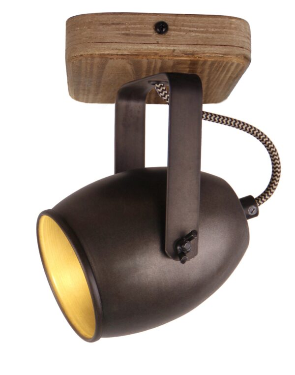 Maria Theresa wandlamp - chroom - 1 lichts