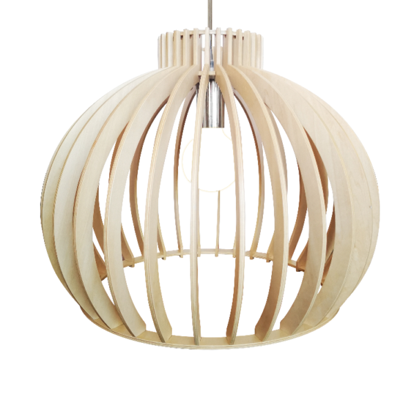 Bella spot - 1 lichts - roest met vintage hout