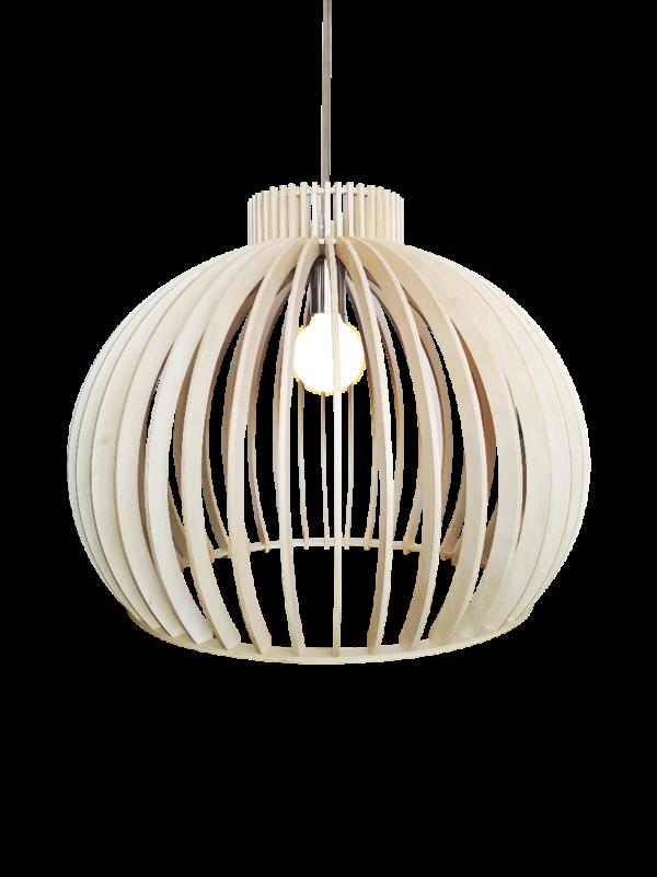 Bella spot - 2 lichts - roest met vintage hout