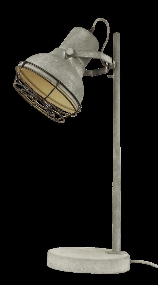 Industria spot - 2 lichts - zwart corrund black met rooster