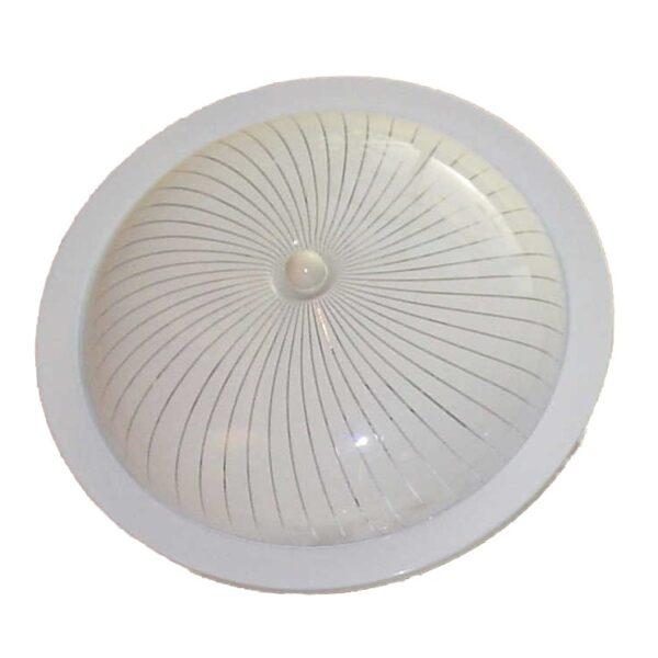 Circo plafondlamp - (1 stuks) - 30 cm - wit - glas