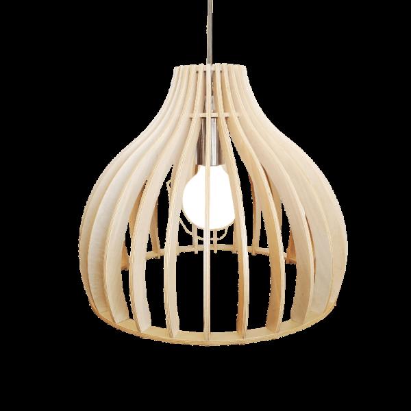 Archini hanglamp - 35 cm - hout natuur
