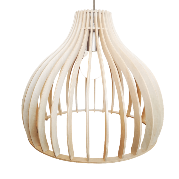 Archini hanglamp - 45 cm - hout natuur