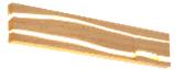 TRAVOLTA wandlamp met LED - 30 cm