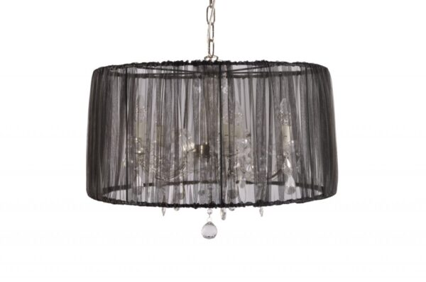 Alveare hanglamp pendel - zwart