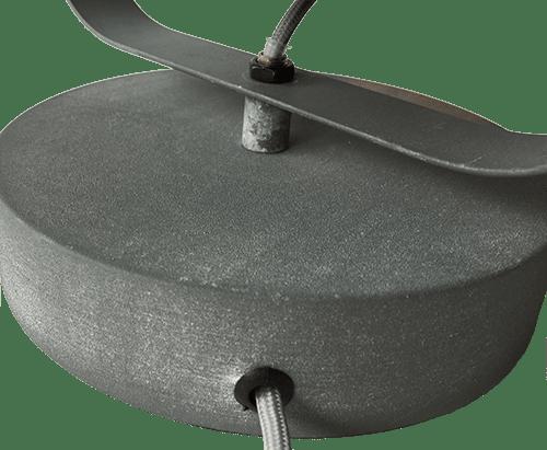 Industria tafel of wand of plafondlamp - beton
