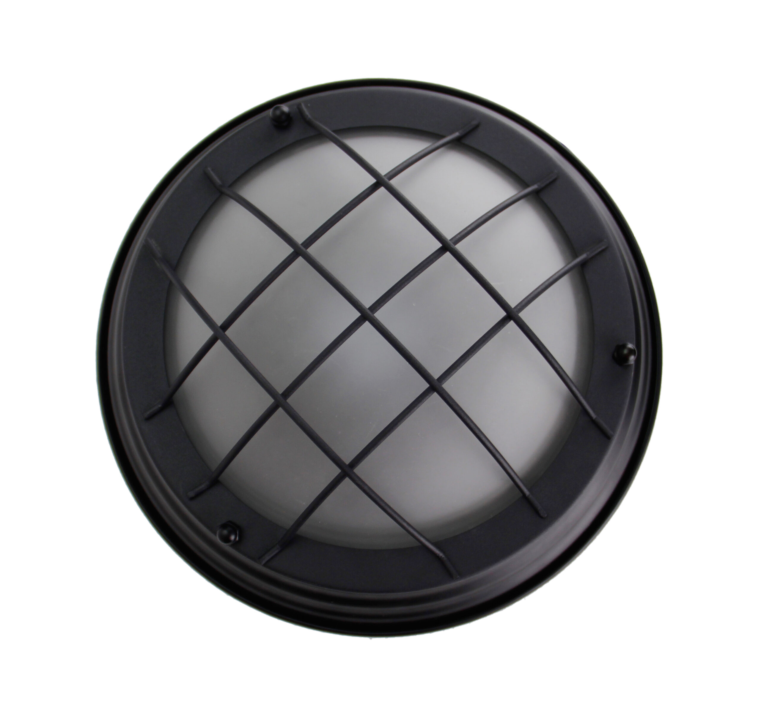 Nero plafondlamp - 1 lichts - 28 cm - zwart