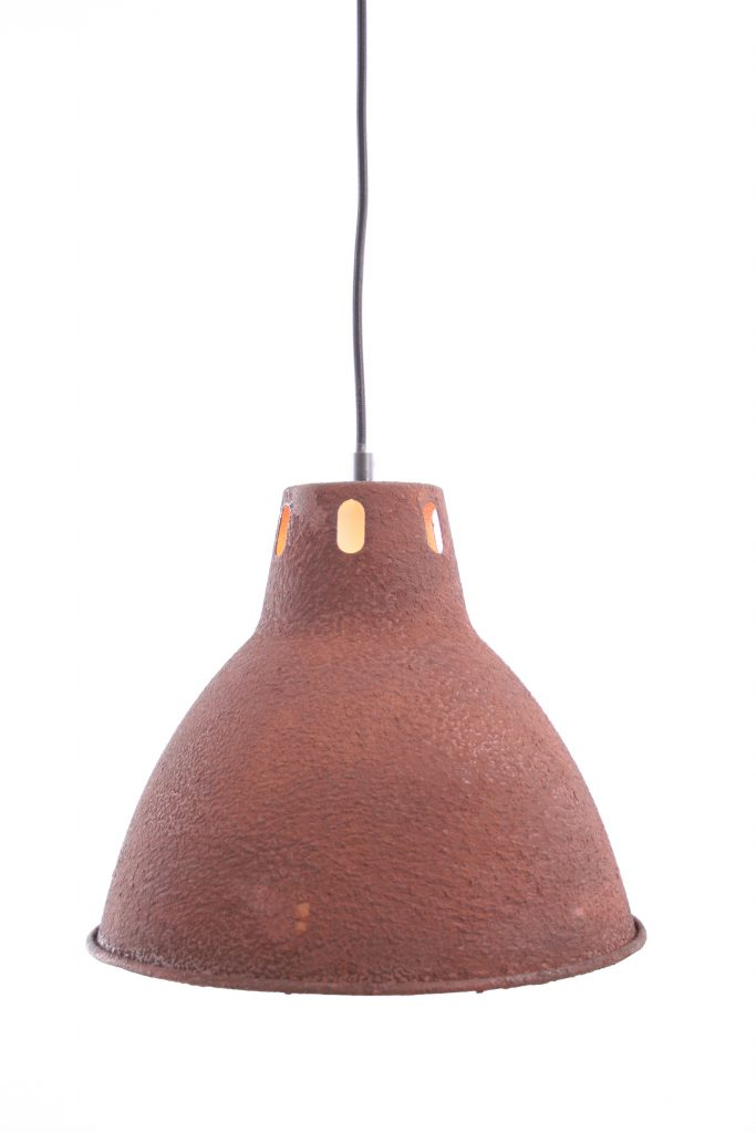 Cucina hanglamp - rond 30 cm - roest