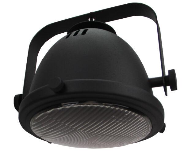 Nero hanglamp - 1 lichts - 20 cm - zwart met glas