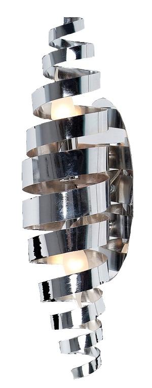 Cocoon wandlamp - 2 lichts - chroom