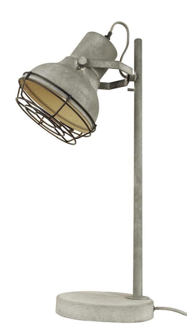 Industria tafellamp - beton 57 cm met rooster