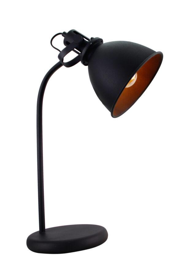 Industria tafellamp - zwart 57 cm