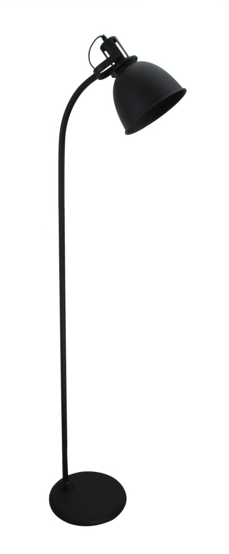 Industria vloerlamp - zwart 157 cm